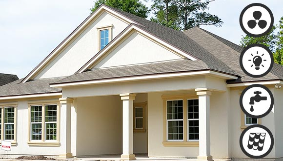 4-Point Home Inspections from Blue Line Home Inspections