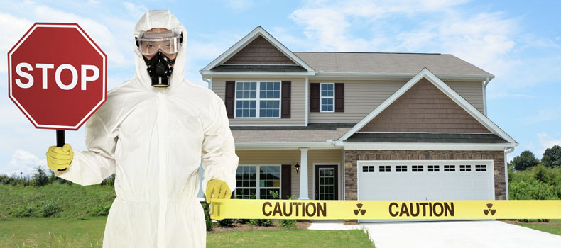 Have your home tested for radon by Blue Line Home Inspections