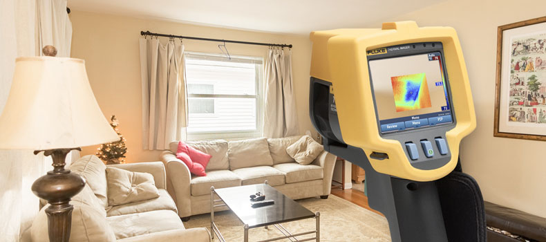 Get a thermal (infrared) home inspection from Blue Line Home Inspections